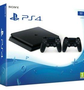 Новые консоли Somy Playstation 4 и MS Xbox One S