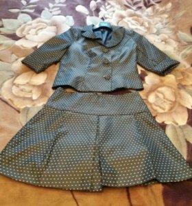 Костюм (юбка и пиджак) bonprix