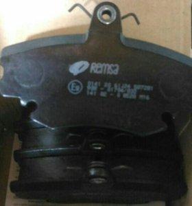 Колодки тормозные передние Remsa 0141.20