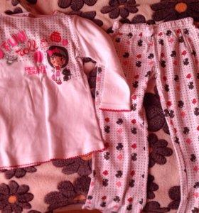 Пижама детская, новая на 4-5 лет