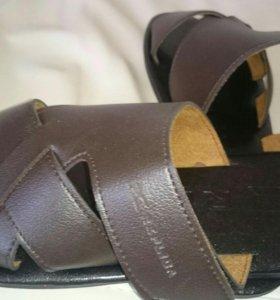 Тапки мужские кожаные 44 р-р