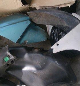Пластик для европейских скутеров