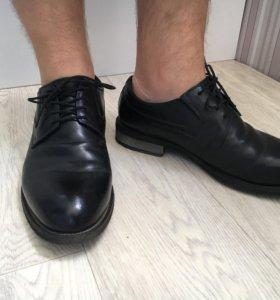 Зимние ботинки туфли
