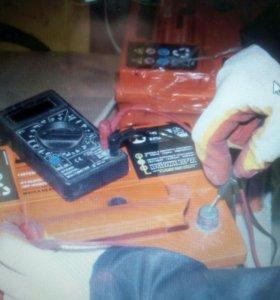 Ремонт борна на аккумуляторной батареи