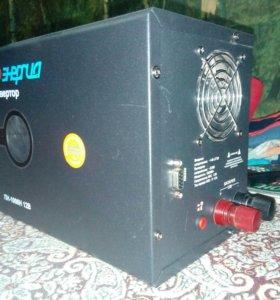 инвертор 700w (UPS) пн-1000Н для газового котла