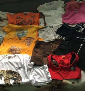 Ассортимент одежды для девочки 134-140