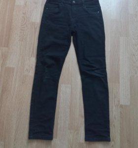Черные джинсы 46