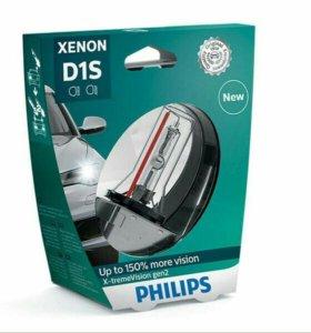 Лампа ксенон.D1S Philips X-treme Vision+150% 4800K