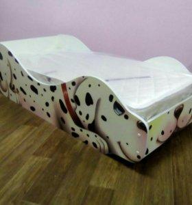 """Кроватка """"Долматинец"""" с матрасом"""