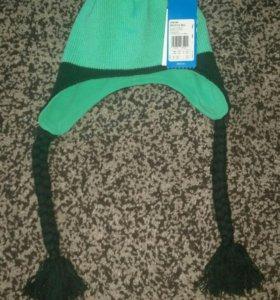 Новая шапочка Adidas на флисе.