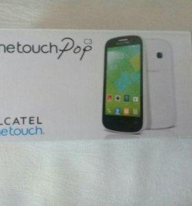 Alcatel one touch pop c3 ( на запчасти)