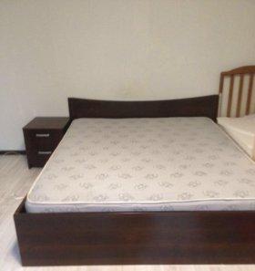 Кровать+матрас Б/у