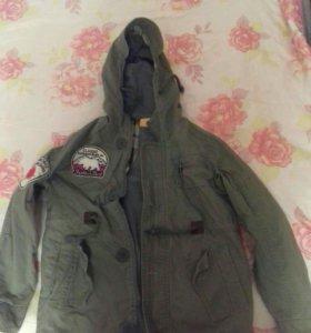 Куртка детская на рост 128-132