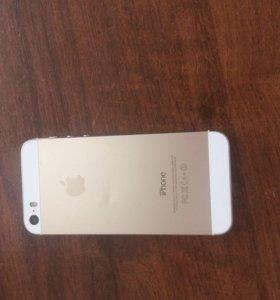 Телефон айфон 5s gold