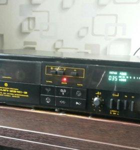 Кассетный магнитофон Яуза МП 221С-2