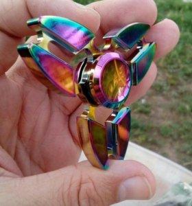 Спиннер треугольники метал