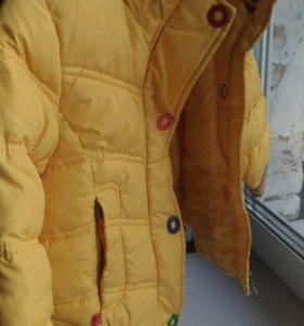Утеплённая курточка для девочек