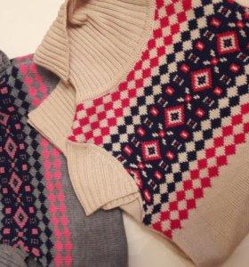 Джемпер-безрукавка (свитер)
