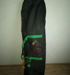 Сноуборд+крепления+ботинки+чехол Burton