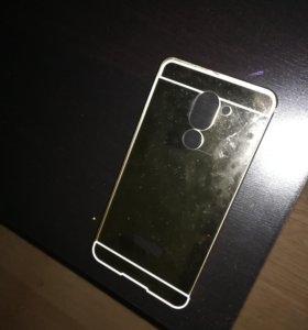 Бампер золотой зеркальный хонор 6х