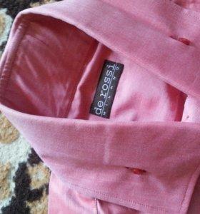 Рубашка мужская новая  de rossi milano
