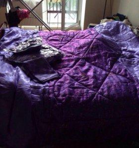Одеяло, подушка и простынке (набор)