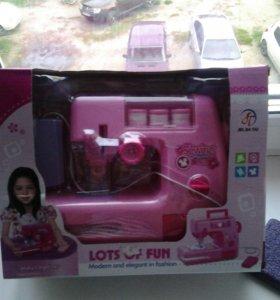 Швейная детская машинка