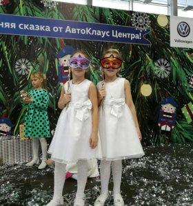 Платье детское праздничное, р.116
