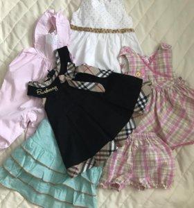 Нарядная одежда для девочки (рост 62)