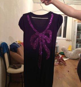 Платье на каждый день, можно туникой