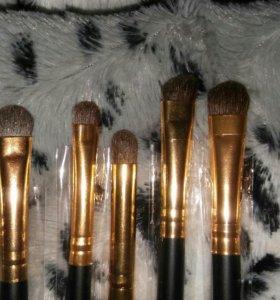 Кисти для макияжа из натурального ворса