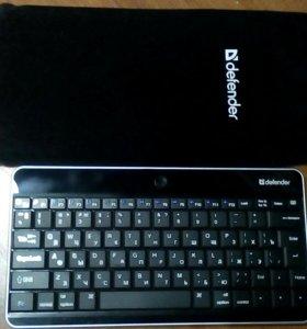 Bluetooth клавиатура Defender с чехлом
