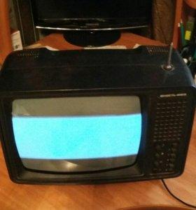 Антиквар телевизор Юность-4060. Чб. Рабочий