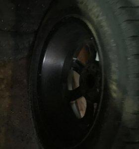 Литые диски на зимней резине