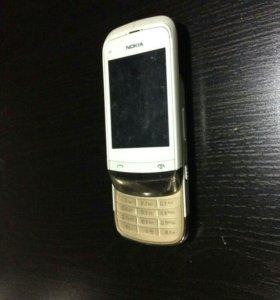 Телефон-слайдер Nokia C2-03