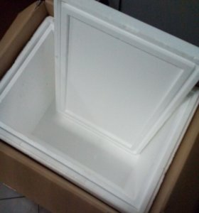 Пенопластовая коробка-термос.