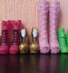 Туфли для кукол (Монстер хай и эвер автер хай)