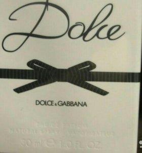 Парфюмерная вода Dolce Gabbana оригинал новая