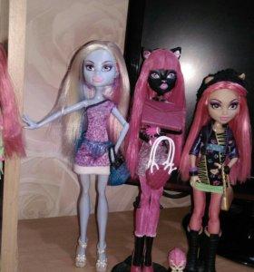 куклы Monster High и Ever After High.