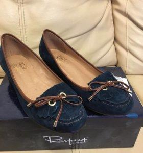 Туфли женские новые натуральная замша