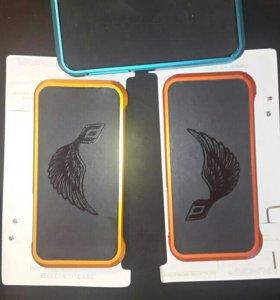 Металлические бампера на iphone 5 5s