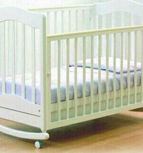 Кровать-качалка детская
