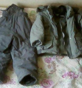 Куртка + жилет + штаны для мальчика