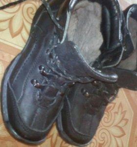 Ботинки зимние новые 32 размер