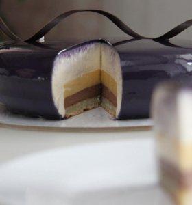 Муссовый торт Манго
