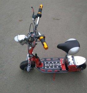 Макси скутер электро 36Вольт 800ват-2017