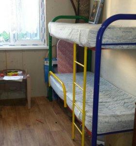 Двухярусная дет.кровать