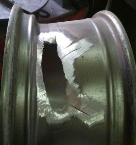 Ремонт литых дисков прокатка покраска