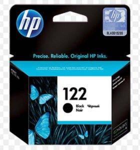 Картридж HP 122, чёрный. 271217