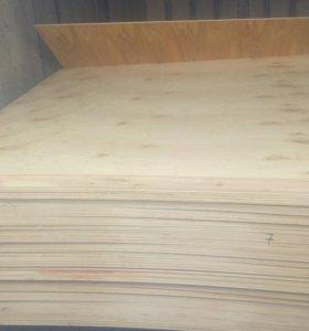 Продам березовую фанеру 6мм, 8мм, 12мм